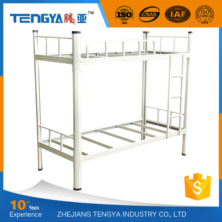 Tengya Wholesale Adult Wrought Iron Dormitory Bunk Bed for Adult