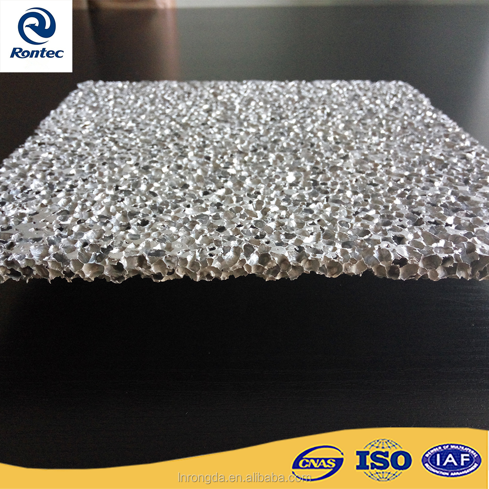 Protective and energy absorption aluminum foam material