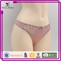 2015 New Arrival Pretty Pattern Hot Lady Thong hot sexy girls panty photos panties