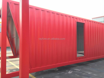 customized container shop prefab shipping container house