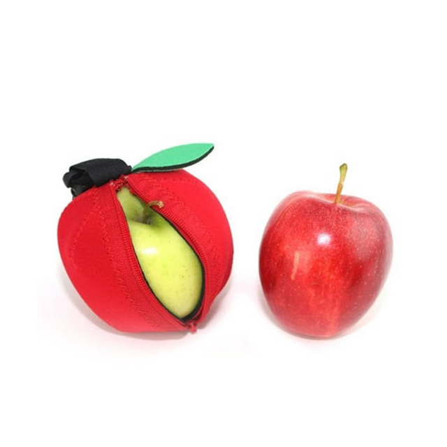 Promotional Neoprene apple shaped Fruit Jacket