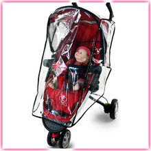 TUV certificate with side hole allow baby dry best cheap rain cover for tricycle
