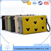 Cell phone inter layer mouse pattern printed clutch bag High quality Pu leather envelope clutch bag