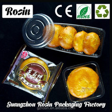 plastic inner packaging single mini cake tray