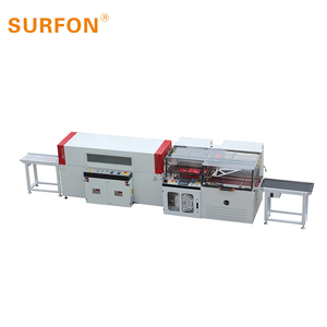 GH-3015ML Automatic PE / POF Film Shrinking Packing Machine For Juice Bottles