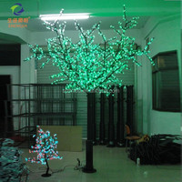 fake tree light cheap led landscape flower tree light for decorative outdoor artificial bamboo