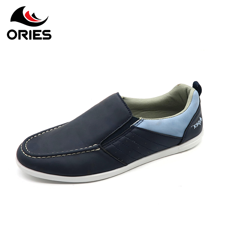 Soft bottom comfortable and portable new model PU loafers men casual shoes