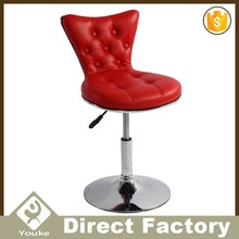 Modern low price high back swivel function stool bar chairs