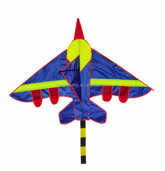 Colorful plane kite for kid from weifang yuanfei kite factory