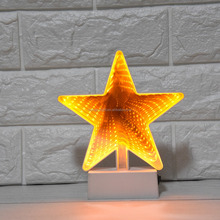 3D Creative Novelty Star Shape Tunnel Lamps/tunnel led light
