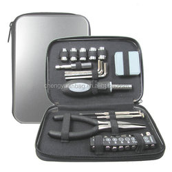 Universal 24 Piece Tool Set Case/Bag/Box for for Home, Kitchen, Bedroom, Garden, Car, Boat