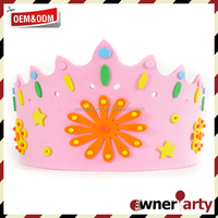 Factory Price High Quality Foam Princess Crown