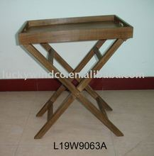 antique folding wooden table