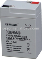 dry type deep cycle battery 6V/4AH