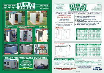 Tilley Shed