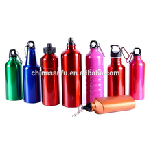 Food grade aluminum sports drinking bottle with logo printing