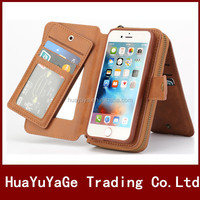 Multi-Fuction Wallet Flip Leather ID Card Holder case cover for Apple iphone 6 6S Plus