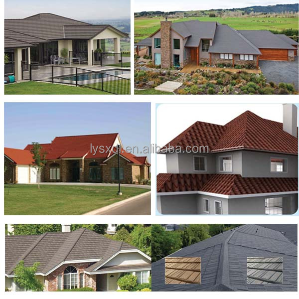 advantages of zinc aluminium metal roof tile to traditional cement clay roof tile