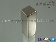customized permanent super strong large neodymium block magnet N52 highest grade