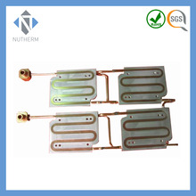aluminum cold plate with copper tube for industry