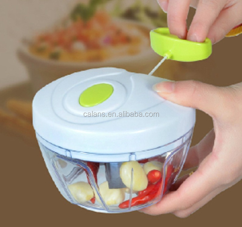 Amazon FBA Multi-Function Kitchen Chopper,Manual Food Shredder,Hand pull chopper