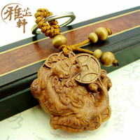 Chinese Traditional Animal Shaped 3D Designed Authentic Wood Key Holder On Sale