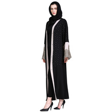 Jeddah Turkish Jilbab Islamic Long Clothing Lady Abaya Wholesale