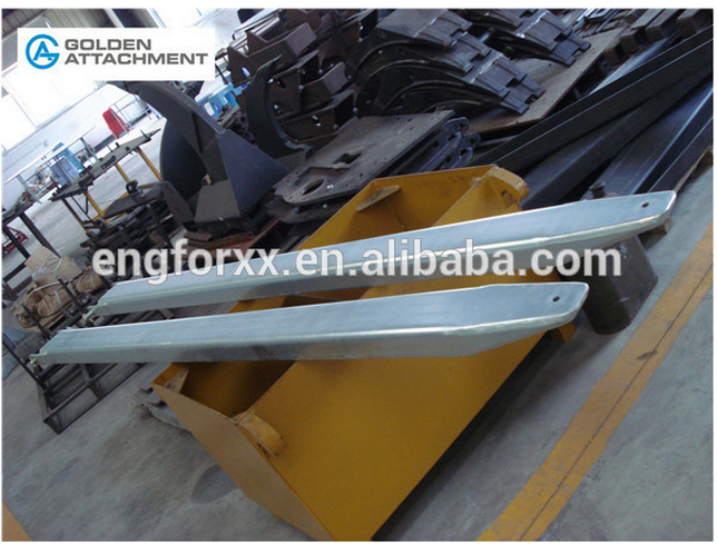 material handling equipment china extension fork used forklift extensions