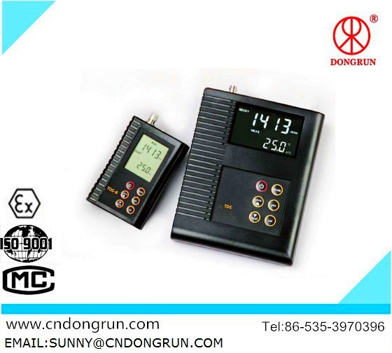TDS-B02 Precision Portable COND/TDS/Salinity Meter/manufacturer/2014 latest water analyzer/digital display