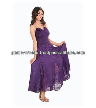 Ladies Long Evening Dress