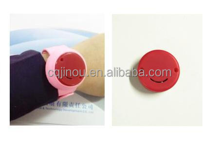 Bluetooth BLE Beacon silicone smart bracelet/location/ Anti-lost/AlarmTracer Finder Alarm Patch GPS Locator