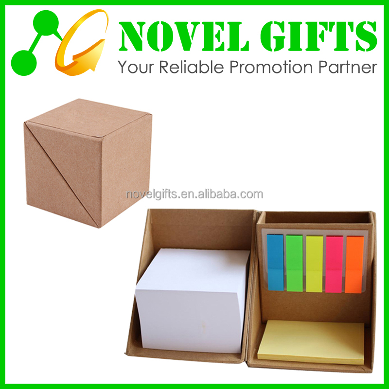 Promotion Memo Note Pad Box with Pen Holder