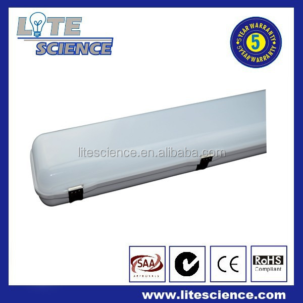 LED vapor tri proof light dust proof vapor tight light tube IP65 30w