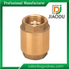 High Quality Pressure Of Spring Loaded Forged Full Brass 10 mm Full Brass Check valve For Pex And Pap Pipes manufacture Price