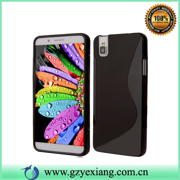 colorful s line tpu case cover for huawei shot x cheap case