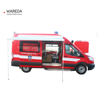 Wholesale Full Cassette Retractable Van Awning Customized with 100% waterproof PVC Fabric
