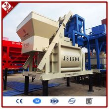 Good Price 90M3/H Output Hydraulic Pump Self-Falling Hot Sell Electric Concrete Mixer Js1500