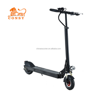 ES8001 Adult 8inch 500w 48v 10ah 2 wheel folding mypet portable electric scooter