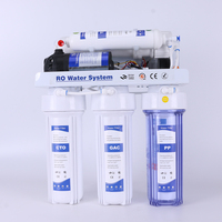 5 stage reverse osmosis water purifier alkaline water filter ro system plant for home use