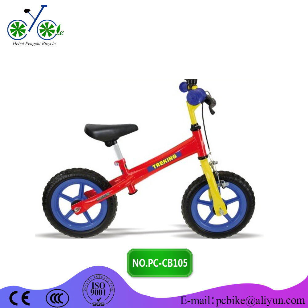 2016 Factory wholesale children bicycle / China cheap price kids balance bike for child / steel kids balance