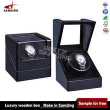 watch winder automatic wood box handmade from Chinese mainland supplier high quality
