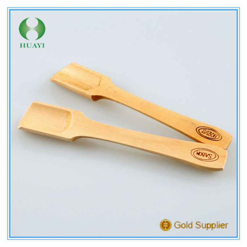 Hot sell 2015 new products wooden flat bottom spoon