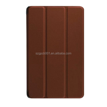 Quality Karst Texture Leather for NEW KINDLE FIRE 2015 7' Leather Case foldable smart case Business Protective case PC+ PU