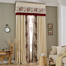 new model fold curtains design window drapery