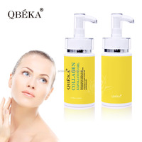 Organic plants White collagen exfoliating face peeling gel Professional Skin Care Products