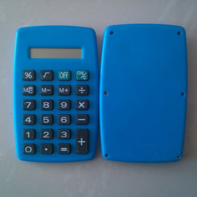 Customize OK New Student Mini Electronic Calculator Candy Color Calculating Office Supplies Gift
