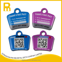 Pet Products Matal Pet Products QR Code Pet Tags For Dog Pendant