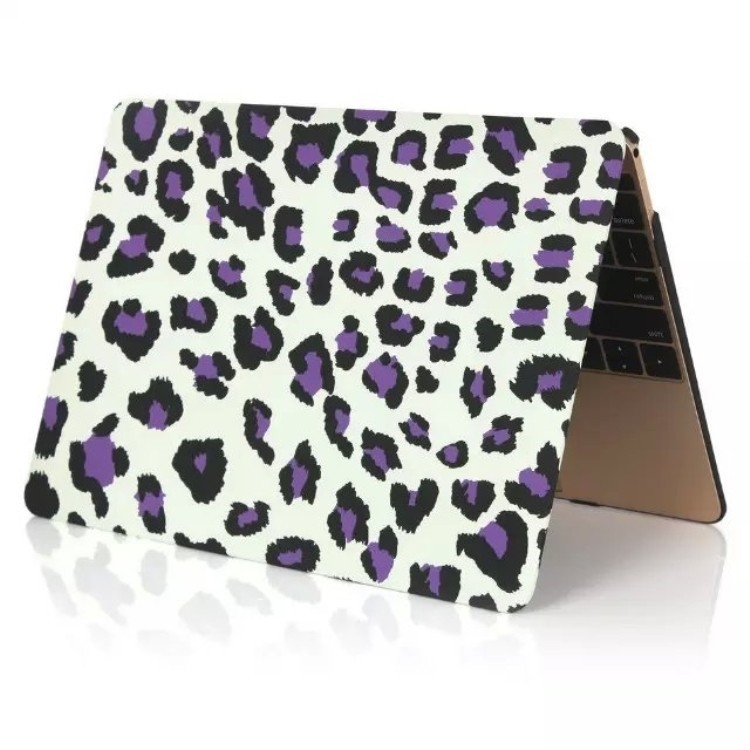 For new macbook air 12 case skin with leopard printing