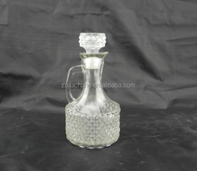 waterlight glass arrack wine beer oil pot with mini handle