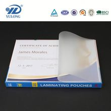 transparent A4 100microns thick pet film